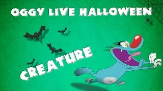 Oggy and the Cockroaches - Live Halloween Compilation #Creature