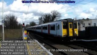 Season 8, Episode 119 - Trains at Seven Sisters station