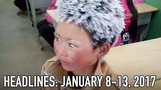 "China's ""Ice Boy"" Goes Viral"