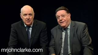 Clarke and Dawe - The Grand Final