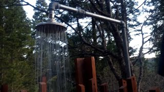 The Fouch-o-matic DIY Outdoor Shower (by request)