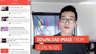 How to Download Images from a URL | Swift Tutorial | iOS Development | Episode #67 LIVE