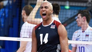 TOP 10 Best Volleyball Spikes | FIVB 2017 | Ben Patch | Volleyball USA