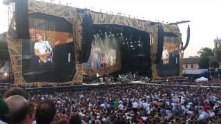 John Mayer - Concerto Rolling Stones - Circo Massimo, Rome 2014