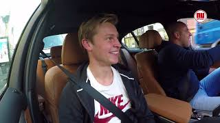 Bij Andy in de auto: Frenkie de Jong over wisselbeleid van Keizer