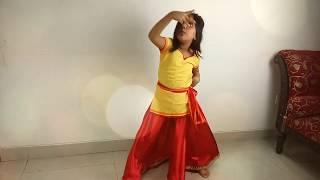লেসন-৩ -মাত্র ৫ বছর বয়সেই নাচ শেখাচ্ছে অগ্নিলা  || OGNILA TEACHES US HOW TO DANCE  !
