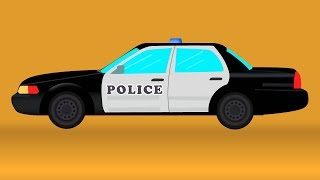 Police Car | Video For Kids And Toddlers