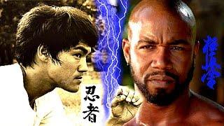 Bruce Lee VS Michael Jai White | Spawn Of The Dragon! ☯Jeet Kune Do Master Vs Kyokushin Kai Karateᴴᴰ