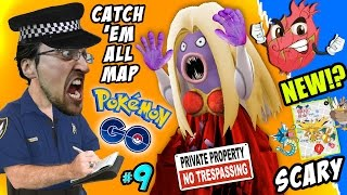 Pokemon Go TRESPASSING!! How To Catch