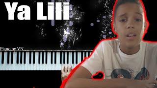 Balti - Ya Lili feat. Hamouda - Piano Tutorial