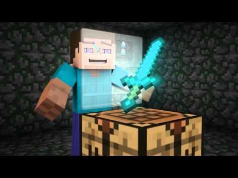 MINECRAFT SONSG : VEGETON V DIAMOND SWORD CANCION 5 !