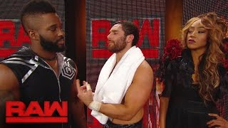 The drama between Cedric Alexander and Alicia Fox continues: Raw, Jan. 23, 2017