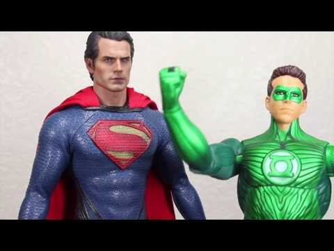 Man Of Steel Hot Toys Superman Movie Masterpiece 1 6 Scale Collectible Figure Review