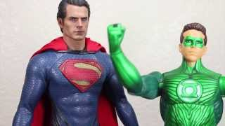 Man Of Steel Hot Toys Superman Movie Masterpiece 1/6 Scale Collectible Figure Review