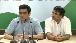 AICC Press Briefing By Ajoy Kumar at Congress HQ, April 26, 2017