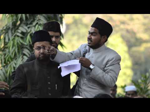AMU protest against the RSS ,by president Abdullah Azzam