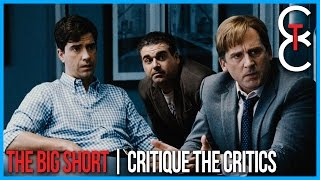 The Big Short 2015 Movie Review of the Critics | 2016 Oscar Nominee #66