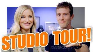 Linus Tech Tips INSANE Studio Tour!