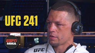 Nate Diaz reflects on win vs. Anthony Pettis | UFC 241 Post Show | ESPN MMA