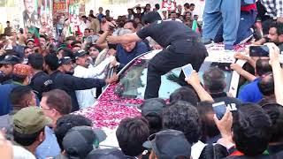 PTI Chairman Imran Khan visit Multan his gathering