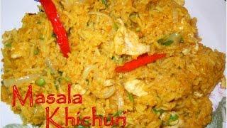 Bengali Masala Khichuri recipe (episode 44) by ruptushDiner Bengali Cooking Show