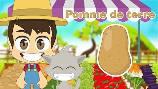 Vegetables in French for Kids – Learn Vegetables Names in French with Zakaria