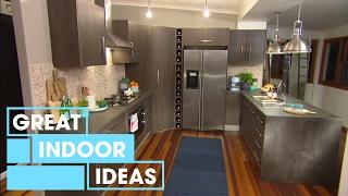 Modern DIY Kitchen Makeover   Indoor   Great Home Ideas