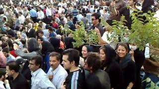 میدان آزادی سال 88 تظاهرات میلیونی علیه کودتا