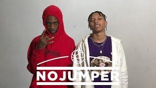 The Duwap Kaine & Lil Candy Paint Interview - No Jumper