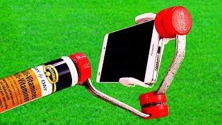 Gimbal, How to Make a Gimbal For Smartphone - Homemade