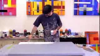 How to apply a Gesso Primer before painting. Why use a Gesso Primer