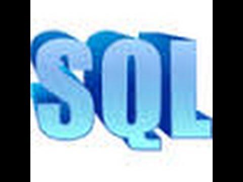 SQL Basics - Lesson 1 -  Introduction