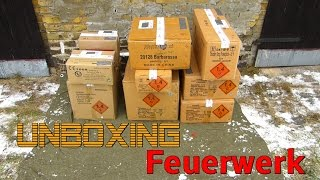 Unboxing Silvester Feuerwerk Bestellung 2014 - Röder P1