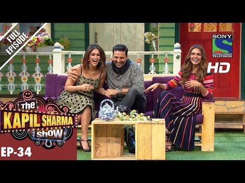 The Kapil Sharma Show - दी कपिल शर्मा शो–Ep-34–Rustom's Courtroom Drama–14th Aug 2016