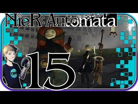 NieR: Automata English Walkthrough - Part 15: The Search For 9S