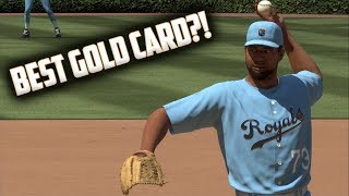Best Gold Card In The Game?! MLB The Show 17 Diamond Dynasty Gameplay