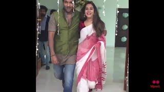 Hero Vishnu and Artist Surekha Vani Unseen Video    Celebrity News and Viral News