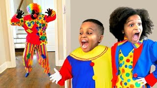 Clown vs Shasha and Shiloh - Onyx Kids