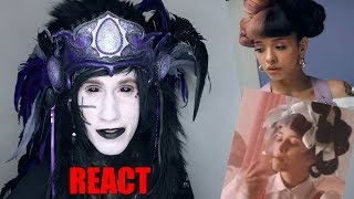 Goth Reacts to Melanie Martinez - Mad Hatter [Official Video]