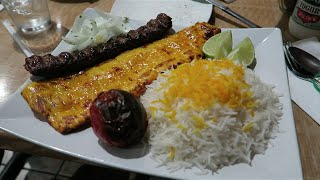 OUT HERE GETTING PERSIAN FOOD !!