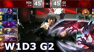 ROX vs G2 - Week 1 Day 3 | Group A LoL S6 World Championship 2016 W1D3 | Rox Tigers vs G2 eSports