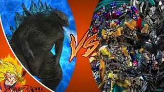 GODZILLA vs TRANSFORMERS! TOTAL WAR! Cartoon Fight Club Episode 126 REACTION!!!