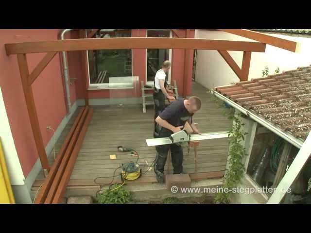 TerrassenUberdachung Holz Hagebaumarkt ~ Verlegeanleitung Doppelstegplatten mit Alu Thermo Profil komplett