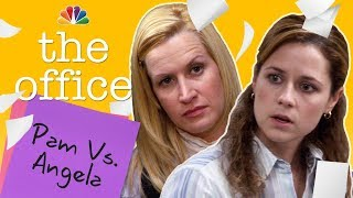 Pam and Angela: Our Favorite Frenemies - The Office (Mashup)