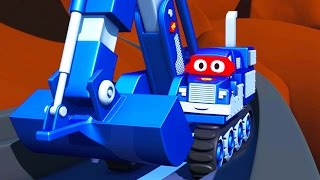 Carl  the Super Truck 🚚 in Saving Baby Cars 👶 in Car City | Trucks Cartoon for kids