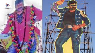 Khaidi No 150 Movie Megastar Chiranjeevi Cutouts at Theaters | Fans Hungama | Ram Charan | Kajal