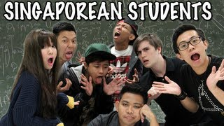 10 Types of Singaporean Students