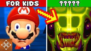 10 KIDS GAMES CHARACTERS THAT ARE PURE NIGHTMARE FUEL