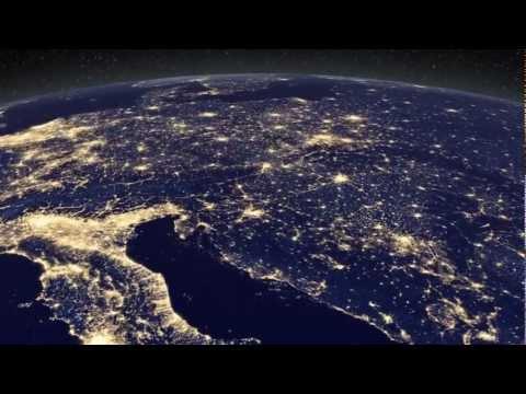 NASA La Terra di notte HD
