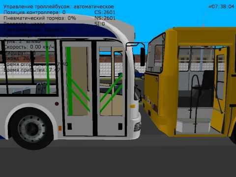 TranCity fajny rosyjski symulator autobusów tramwajów i trolejbusów